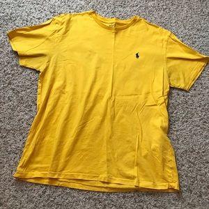 Yellow Polo Top